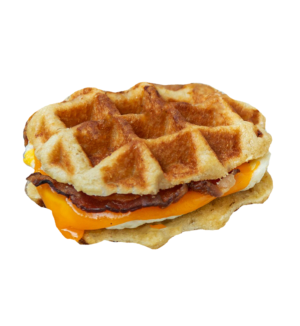 Maple Waffle Sandwich